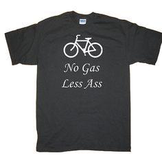 no gas, less ...