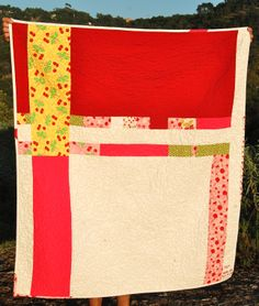 back of cherry quilt
