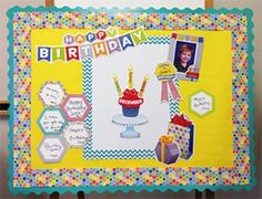 "Celebrate birthdays with the 54 pieces in the stylish and colorful HexaFun bulletin board set. Use the birthday badge, photo frame, and present pieces to make the day extra special. Create a bulletin board display to highlight the birthdays in each month. Add extra excitement and color with the Mini Hexagon Border, Turquoise Wavy Border, Hexagons 6"" Designer Cut-Outs, Birthday Stickers and a Turquoise Chevron Chart!"