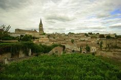 A walk in the wine country of St. Emilion France - near Bordeaux