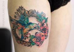 Hummingbird by Yanina Viland
