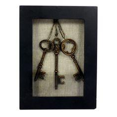 Studio Décor Viewpoint Savannah Framed Keys Home Decor Accent