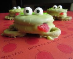 Oreo Frog Treats