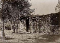 Traditional Chemehuevi home - 1907