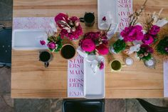 modern tablescape fe