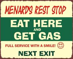 gas, funni sign, funni stuff, laugh, funny humor, eat