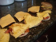 """Make-ahead and Freeze"" Breakfast Sandwiches Home Beccanomics"