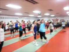 Kardio Kim Johnson leads another great 1 hour Zumba Fitness class at Chesterton Martial Arts  Fitness. 2013 January ChestertonMartialArts.com KardioKim.com
