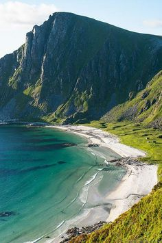 andøy, norway.  Mountains and beach?  Yes, please.