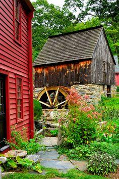 Grist Mill on Rhode Island