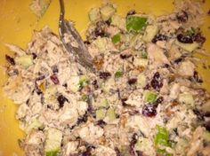 CranApple Pecan Chicken Salad.. bridal shower food