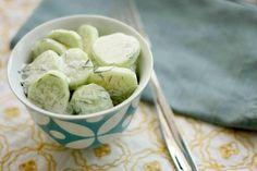 EAT DRINK PRETTY: Cucumber salad
