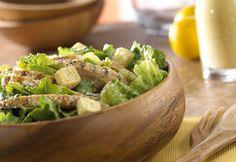 homemade dressings, weight watcher, caesar salad, salad recipes, chicken salads