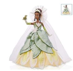 Disney Princess and the Frog Limited Edition doll, 1 of 5000, 17 inch