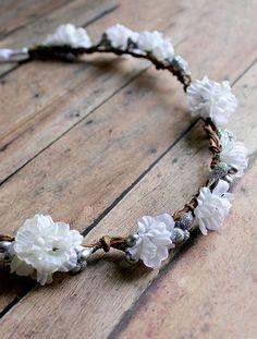 Wedding Floral Crown Bridal Flower Crown