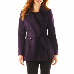 Plum coat to match my plum car