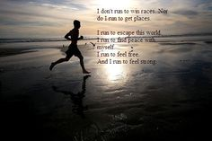 I need to remind myself of this more often. SInce training is kicking my ass right now. Fit, Inner Peace, Keep Running, Beach, Health, Running Quotes, Weights Loss, Stress Relievers, Running Motivation