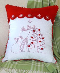Trim the Tree - Winter / Christmas - Patterns - Crabapple Hill Studio