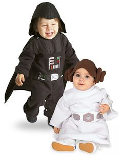 Little Star Wars Costumes for Baby Geeks