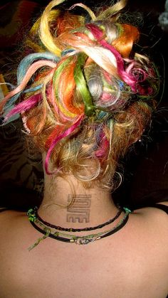 Rainbow dreads #dreadstop - We are Live DreadStop.Com