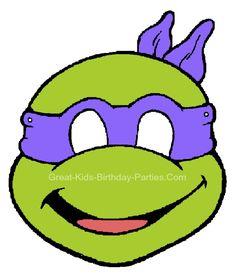 Free TMNT Printable Masks