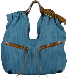 Spring Denim Trends: Denim Accessories to Make Your Wardrobe Pop - BV on Style jean, handbag, googl zoeken, anthropologie, denim tote, denim bag, accessories, tote bags, belts