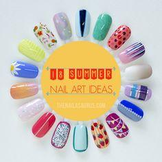 nail art ideas, summer nails, nail arts, summer nail art, nail idea