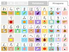 Small list of Japanese apps for kids.