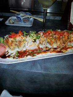 Girlfriend roll at Silk.. nice and spicy