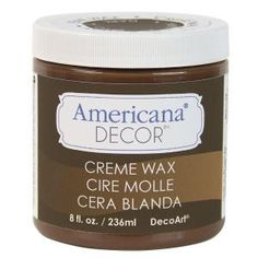 DecoArt Americana Decor 8-oz. Deep Brown Creme Wax-ADM07-45 at The Home Depot