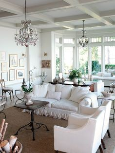 Stunning All-White Living Room | photo Janis Nicolay | design Sophie Burke | House & Home