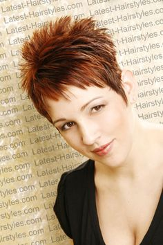 short+spikey+hairstyles+for+women+2013 | ... Spiky Hairstyle with Short Fringe Short spiky hairstyle for women