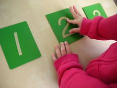 Online Montessori albums to show you how to present lessons