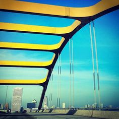 Awesome view of downtown from the Hoan Bridge from Instagram user: kaitlynherzog