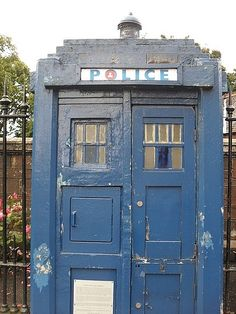 Map of still standing Police Boxes! TARDIS.
