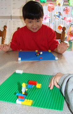 Homemade Lego Listening Game