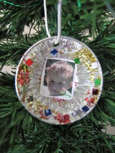 Christmas craft for the tree - handmade Christmas gift for parents