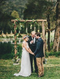 ceremony backdrop, altar, idea, heart, background, wedding arches, rustic weddings, mason jars, outdoor weddings