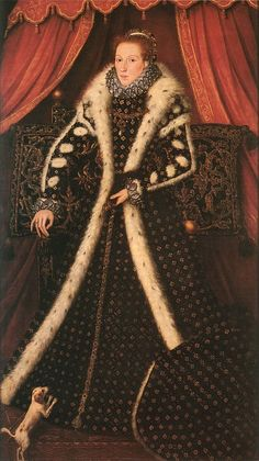 A portrait of Frances Sidney, Countess of Sussex, by an artist of the Anglo-Netherlands School, circa 1570-75. Sidney Sussex School.