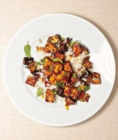 Eggplant and Tofu Stir-Fry recipe