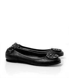 Tumbled Leather Reva Ballet Flat | Womens All Revas | ToryBurch.com