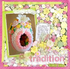 It is nearly time to begin making panoramic sugar easter eggs!!Scrapbooking Journal Of Karen Decker