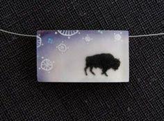 bison necklac