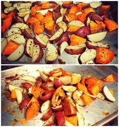 roasted thanksgiving potatoes