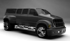 ❤ Best of Trucks @ MACHINE ❤ (Dodge Dually Extended Cabin)