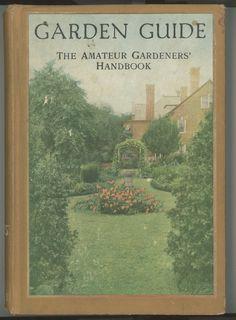 Garden Guide    1923