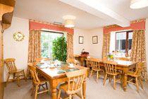 Dining area #B&B @stayryehillfarm #Northumberland
