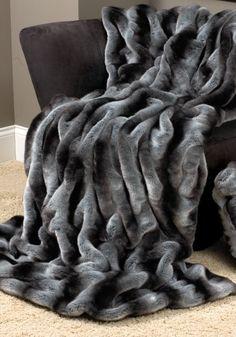 Snuggly! Faux fur blanket    Even better if it was in Snow Leopard!