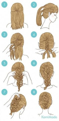 53+ New Ideas For Hairstyles Diy Easy Hair Hacks #hair #diy #hairstyles #LatestFashionHairstyle