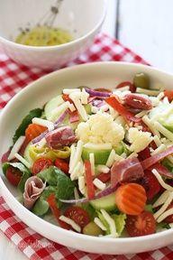 Italian Antipasto Salad -